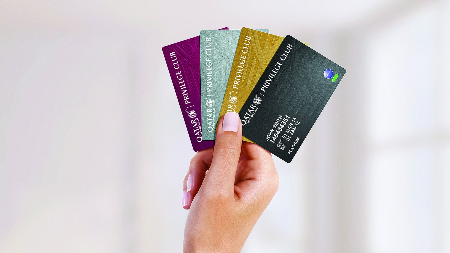QRPC Cards (Qatar Airways)