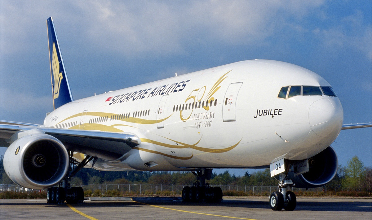 SQ 772 Special Livery 2 (Boeing)