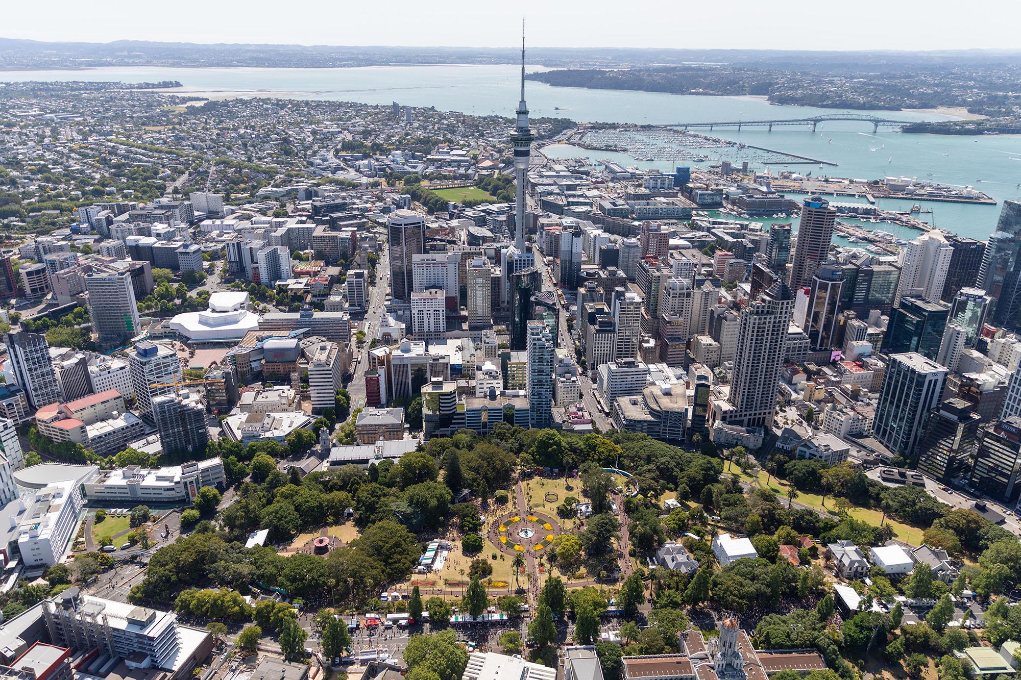 Auckland Aerial (Auckland Tourism)