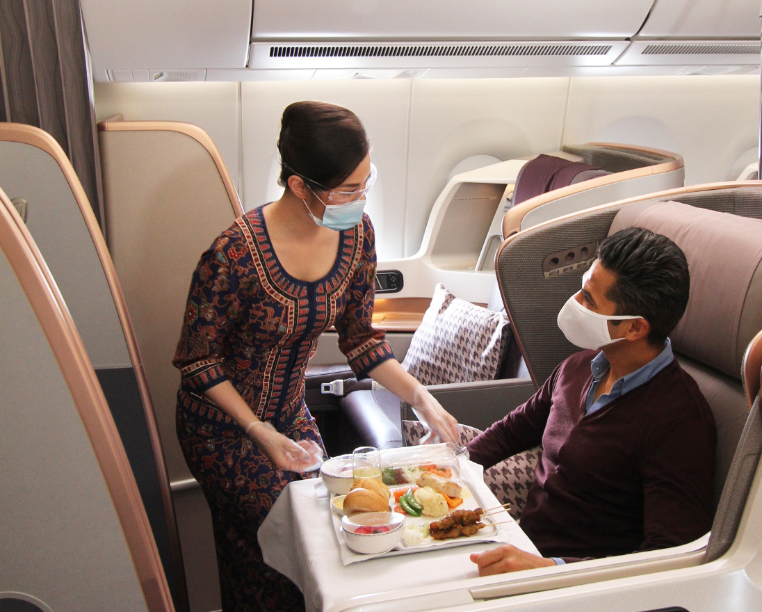 Cabin Crew Mask 2 (Singapore Airlines)