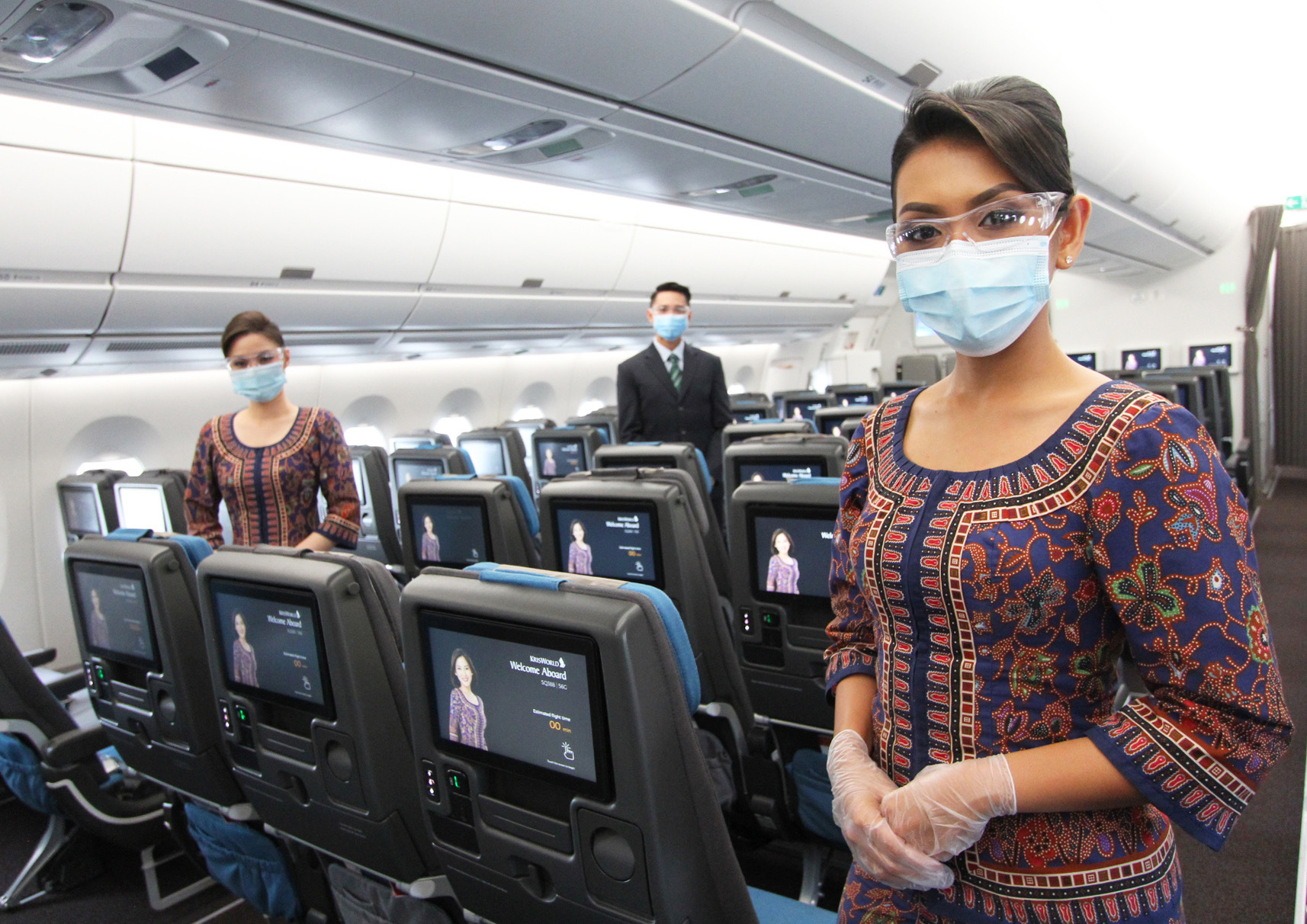 Cabin Crew Mask (Singapore Airlines)