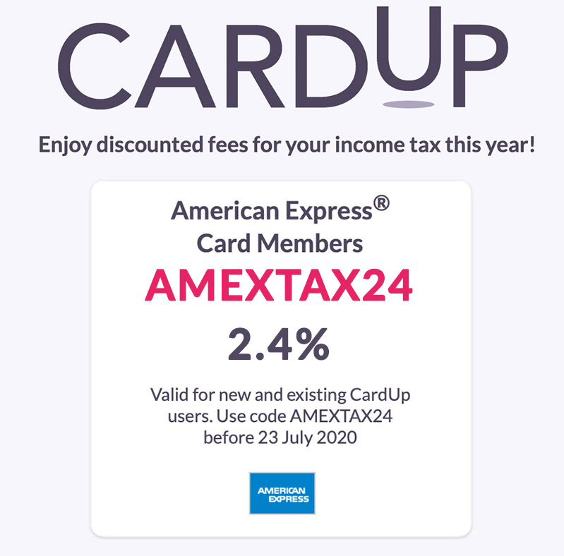 CardUp IT2020 Amex