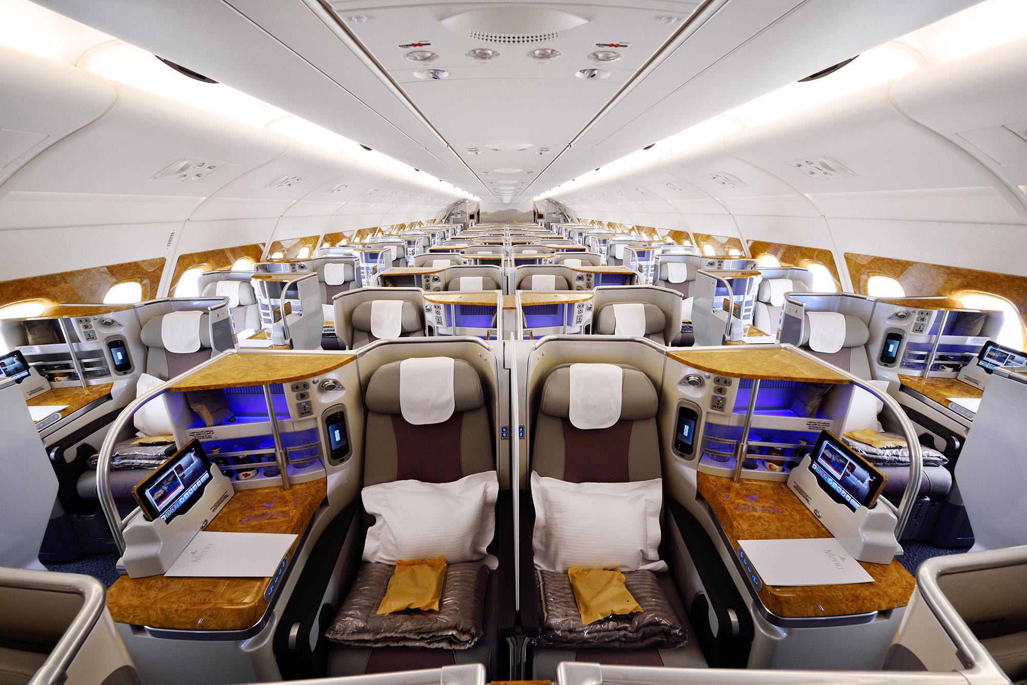 EK A380 J Overview (Emirates)