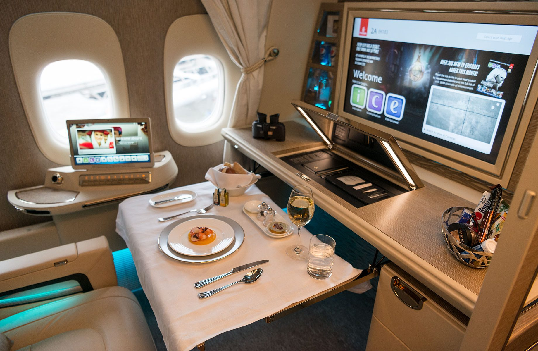 More New Emirates First Class Suites From Singapore Including Award Space Mainly Miles