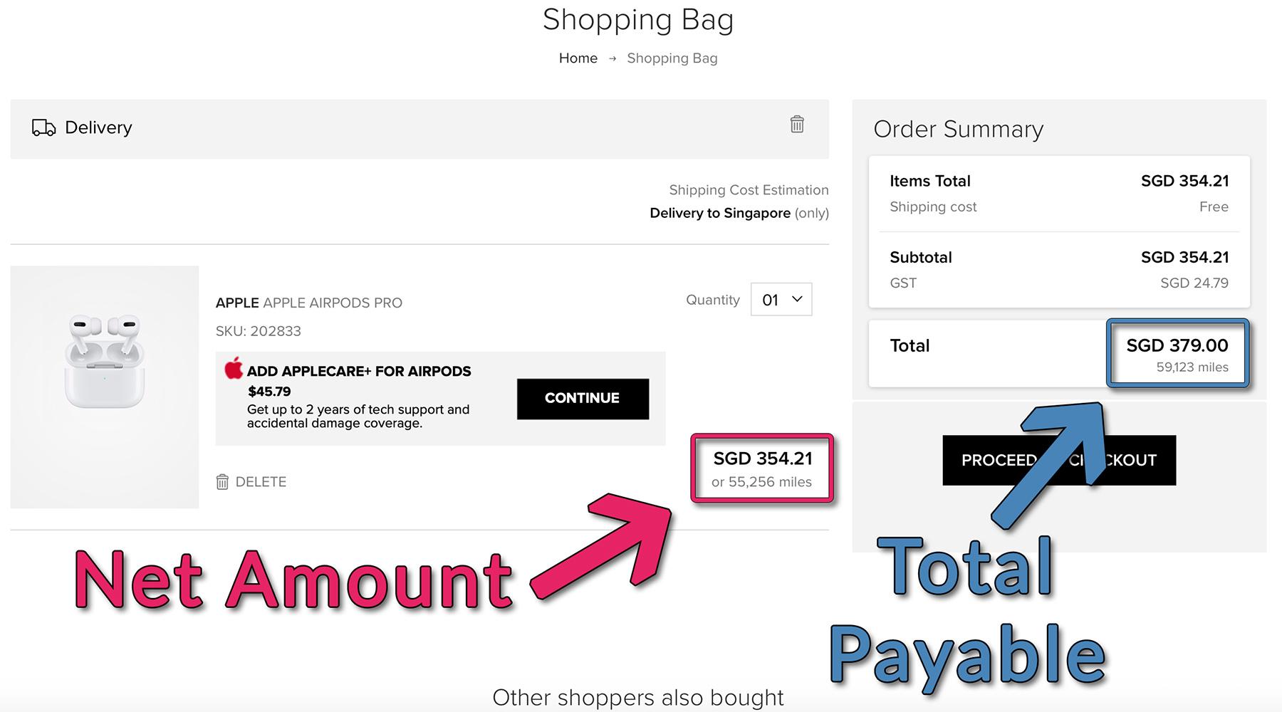 Shopping Bag Example