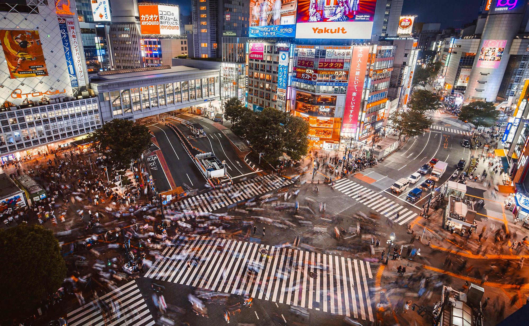 Tokyo Shibuya Crossing (Denys Nevozhai)