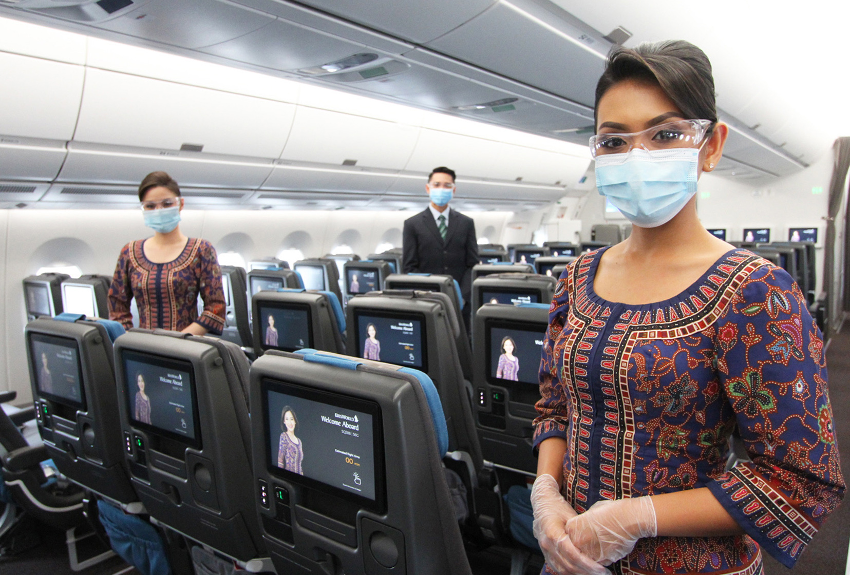 Cabin Crew Mask 3 (Singapore Airlines)