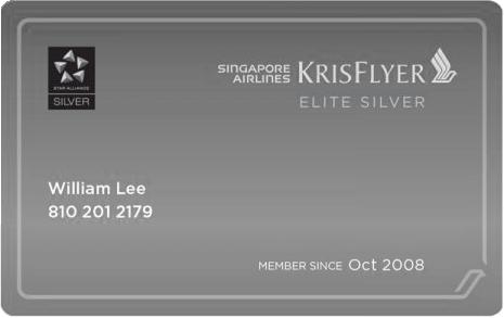KF Silver Card