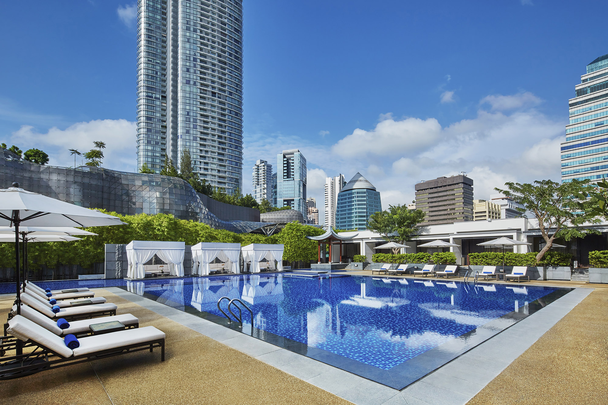 Marriott Tang Plaza Pool (Marriott)