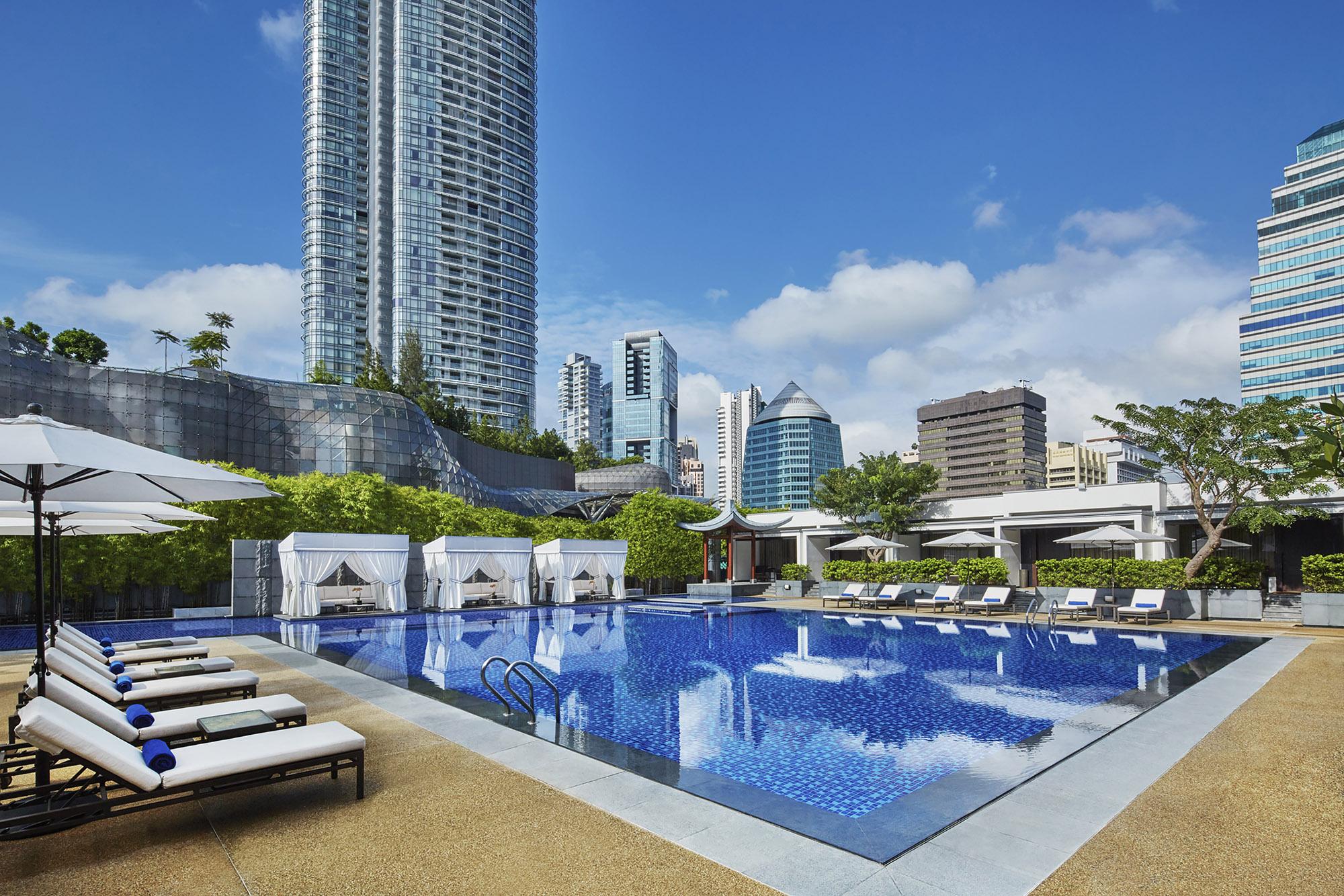 Marriott Tang Plaza Pool (Marriott)