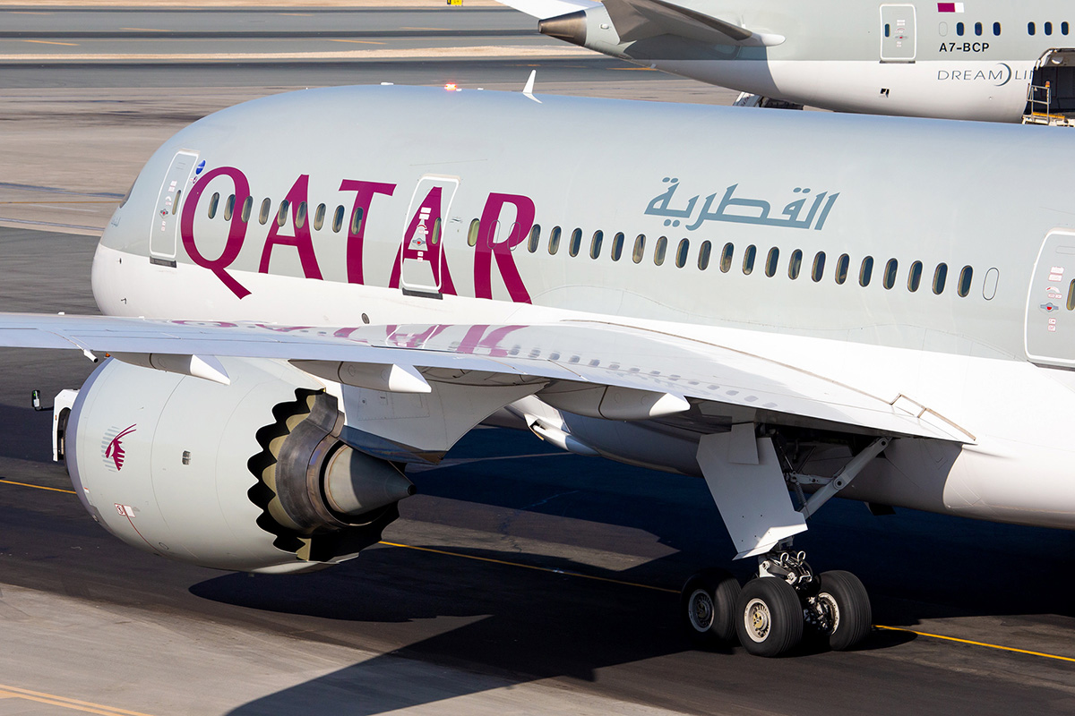 QR B787 Small (Qatar Airways)