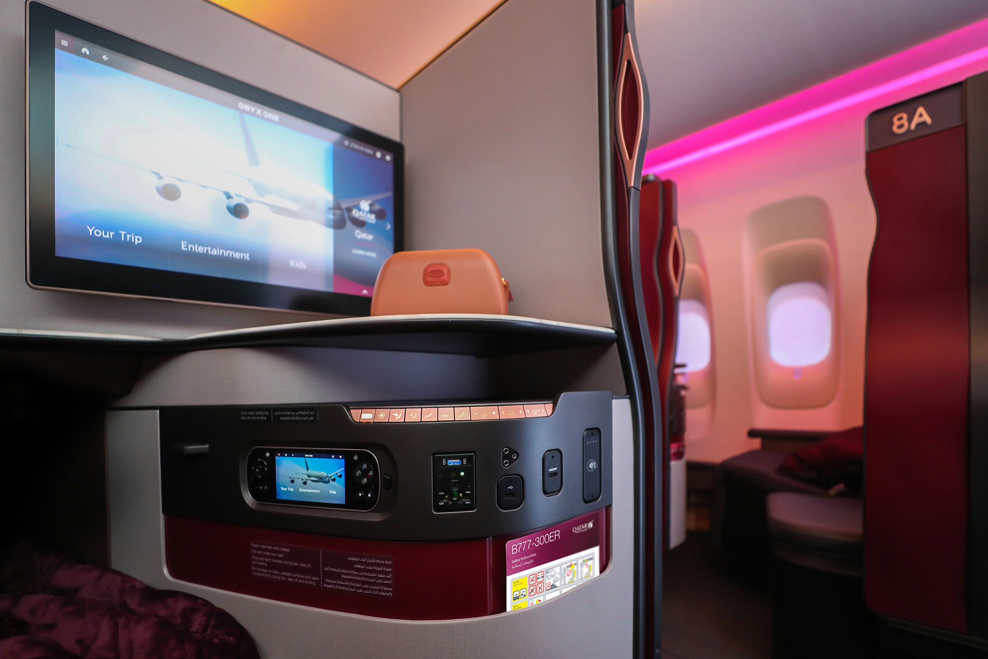 QSuite 77W (Qatar Airways)