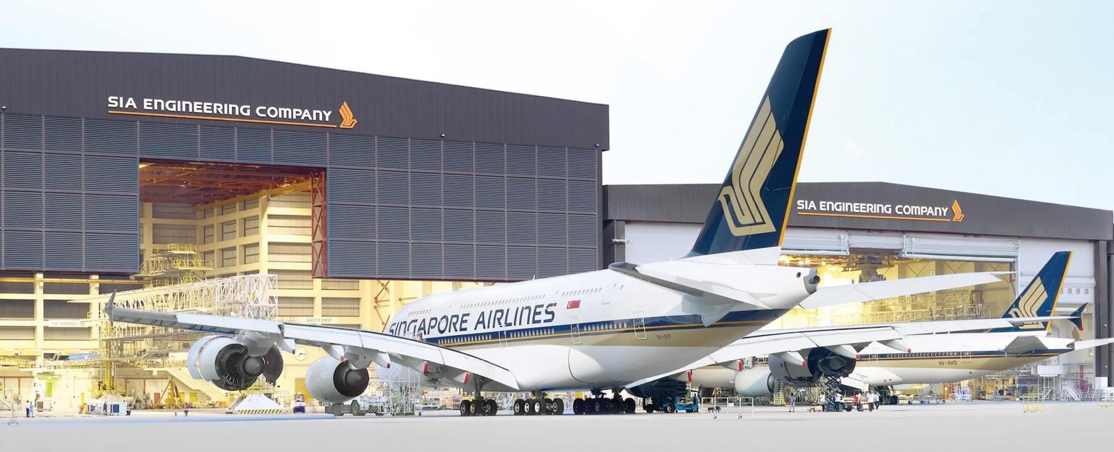 SQ A380 SIAEC