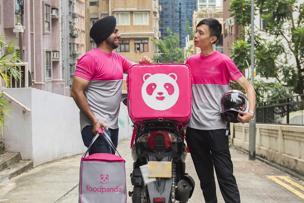 Delivery Bikes 2 Zoom Small (foodpanda)