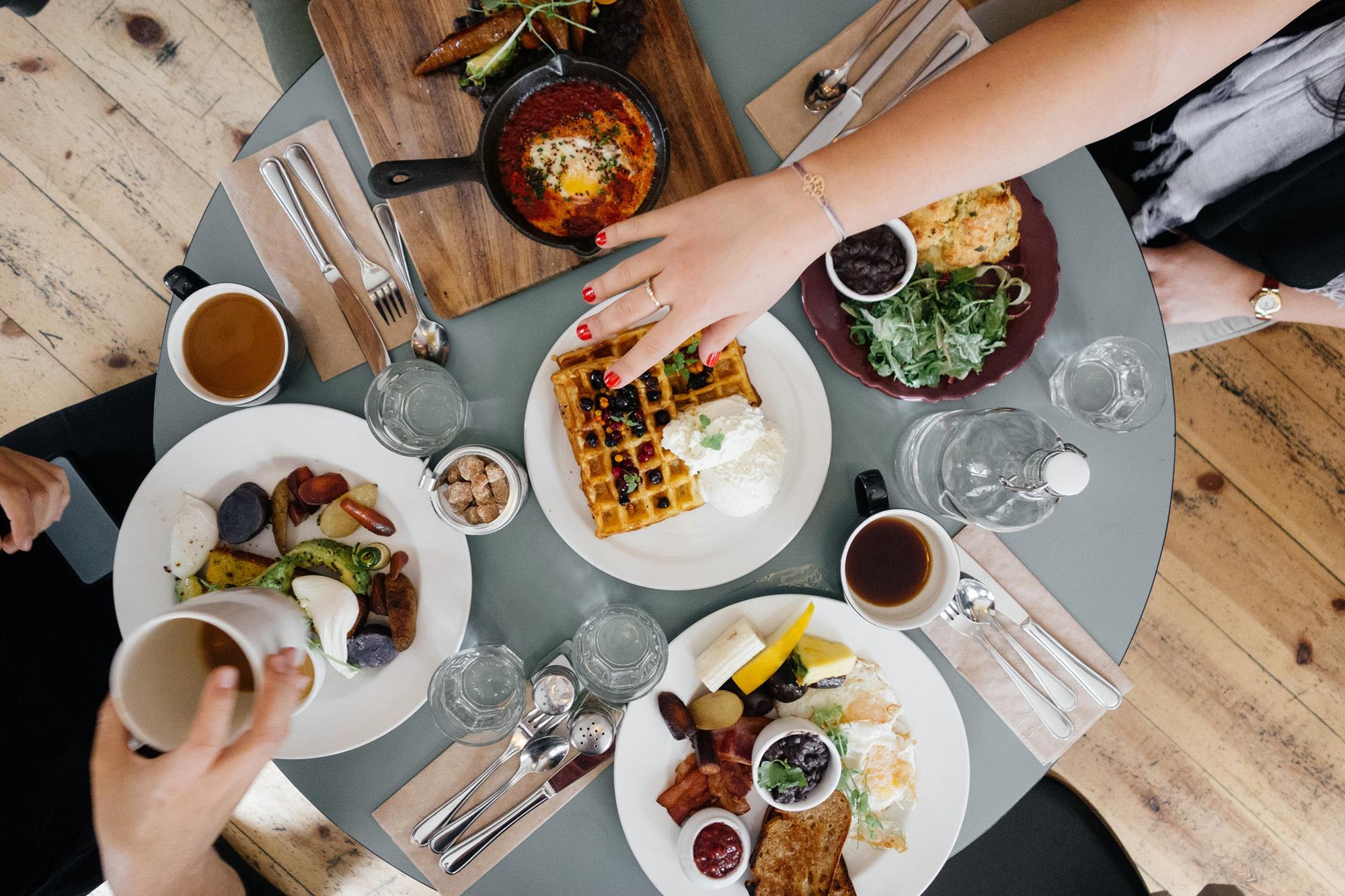 Food Table Restaurant