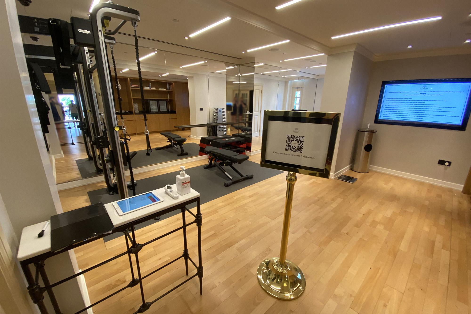 Gym SafeEntry