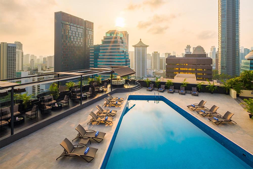 Hilton Singapore Pool Small