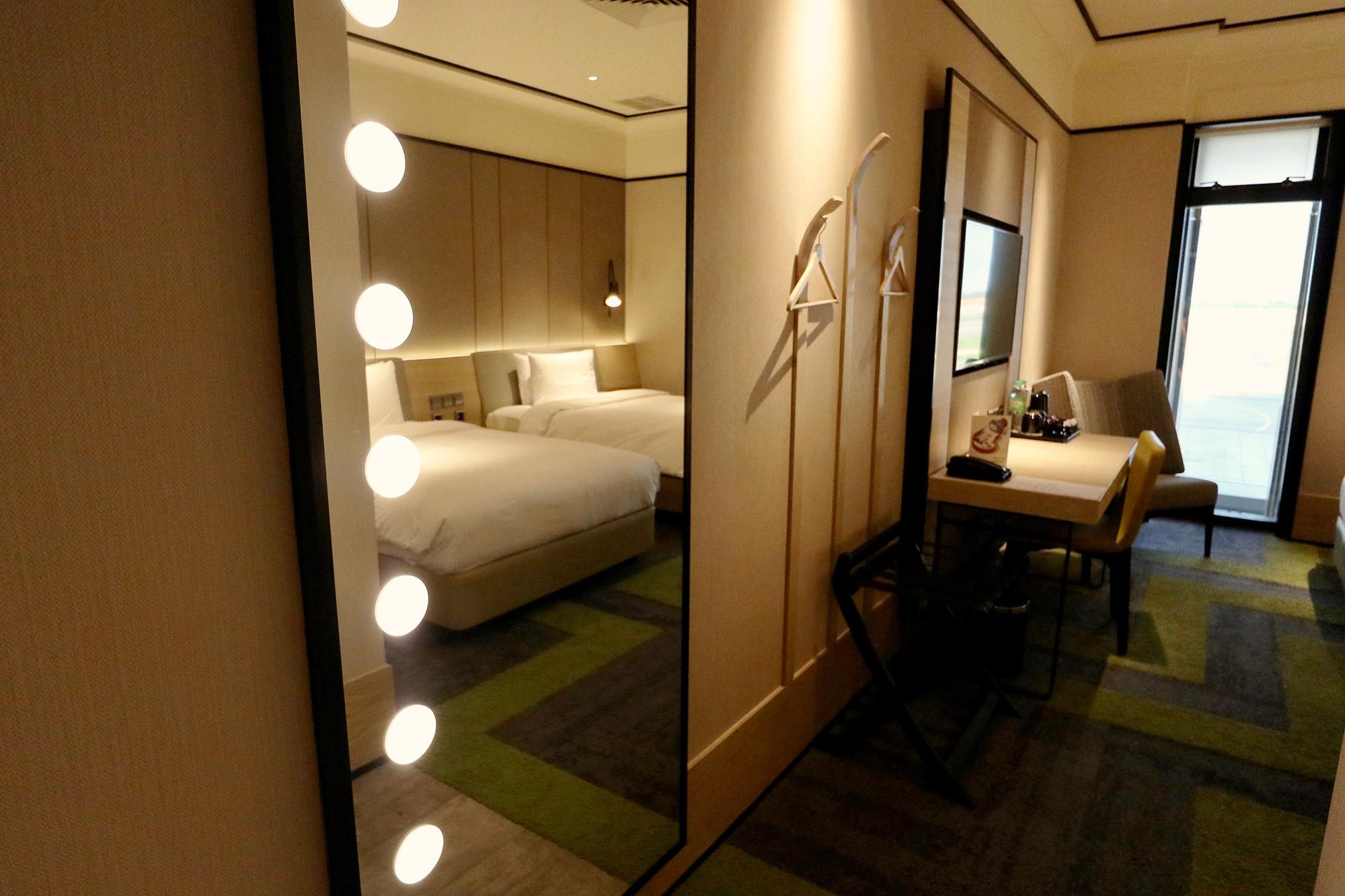 Mirror into Bedroom 3