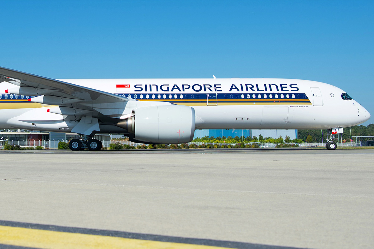 SQ A350ULR Zoom Small (Singapore Airlines)