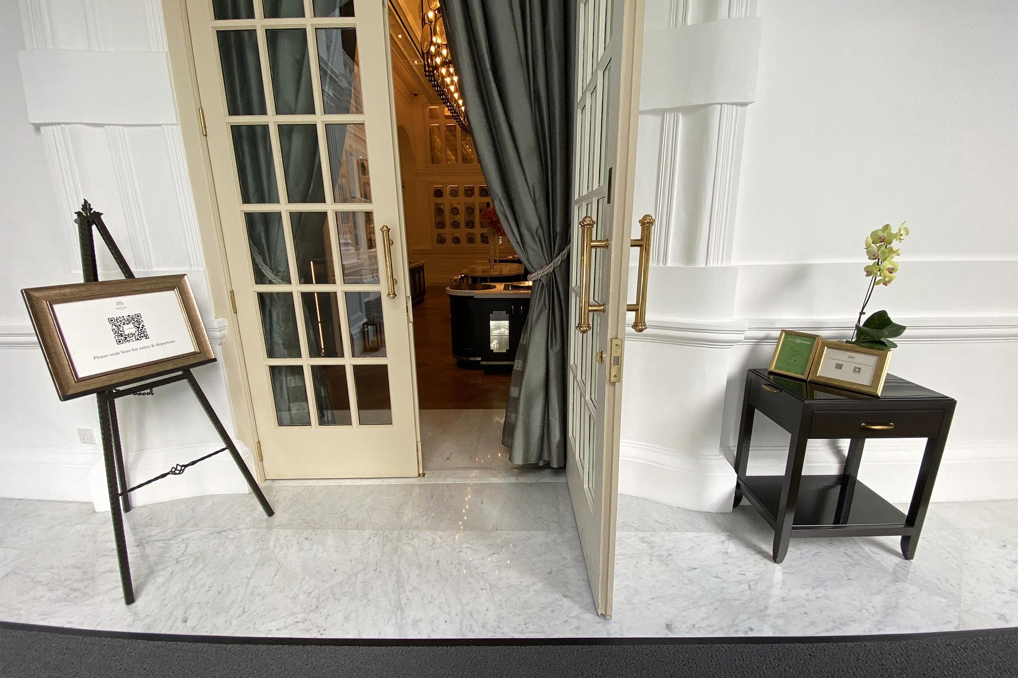 Tiffin Room Entrance