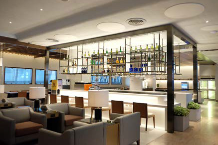 BKK Lounge Bar Aspect (Singapore Airlines)