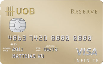 $UOB Reserve Card
