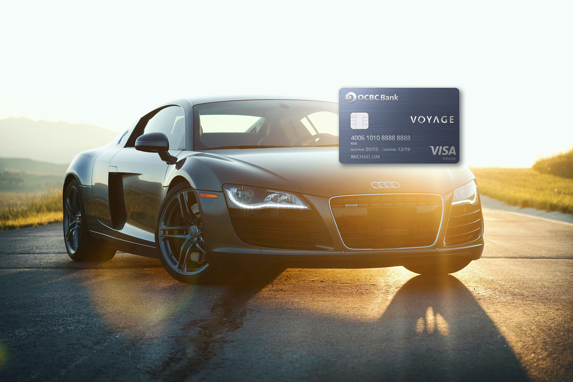 Earn up to 3.3 mpd with your OCBC Voyage card on Apple products, watches… cars!