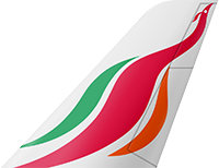 This image has an empty alt attribute; its file name is SriLankan_Airlines_Small.png