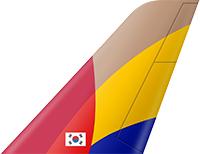This image has an empty alt attribute; its file name is Asiana_Airlines-small.png