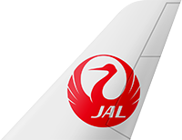 This image has an empty alt attribute; its file name is Japan_Airlines_Small.png