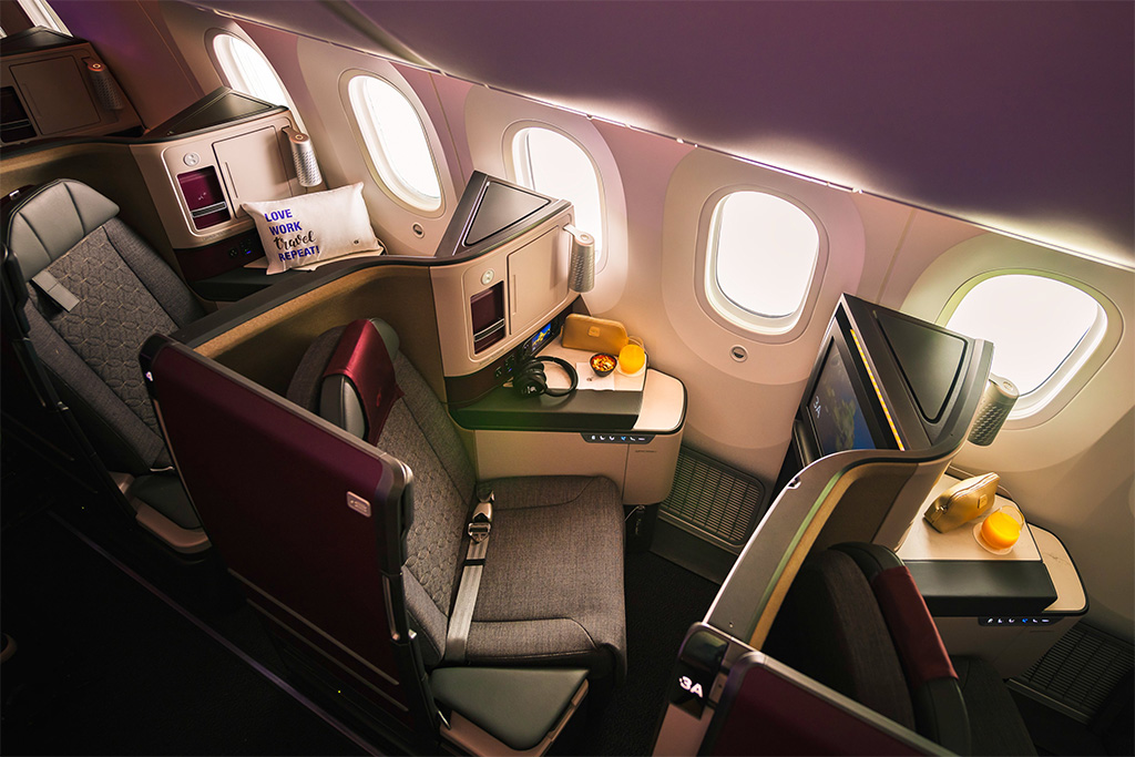 This image has an empty alt attribute; its file name is QR-Business-Suite-Overhead-2-Small-Qatar-Airways-1.jpg